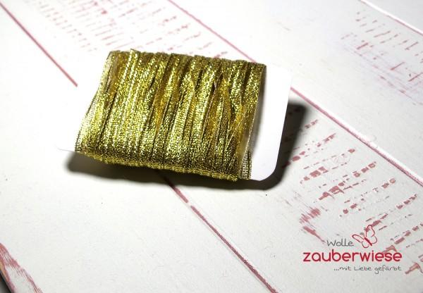 Glitzerband gold