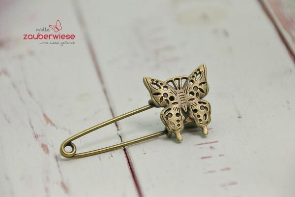 Schalnadel Schmetterling Ornament