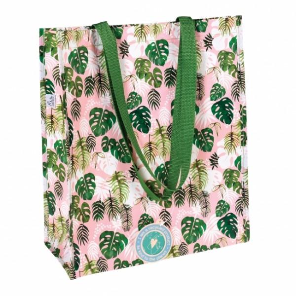 Einkaufstasche Palmblätter