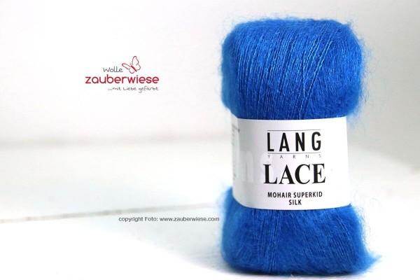 Lace blau, 310m, 25g, kidM1240
