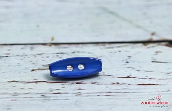 Knopf 20mm blau