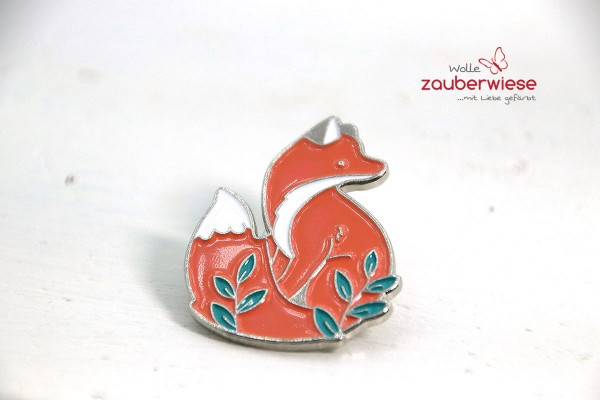 Emaille Pin Fuchs