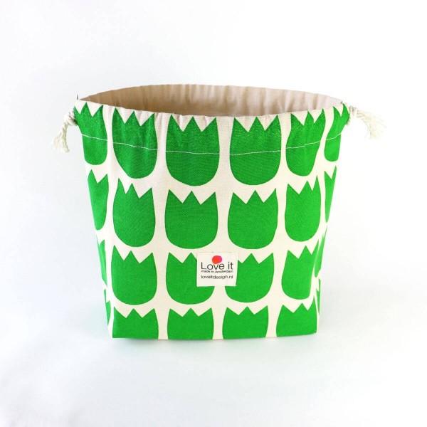 Pull It grüne Tulpen