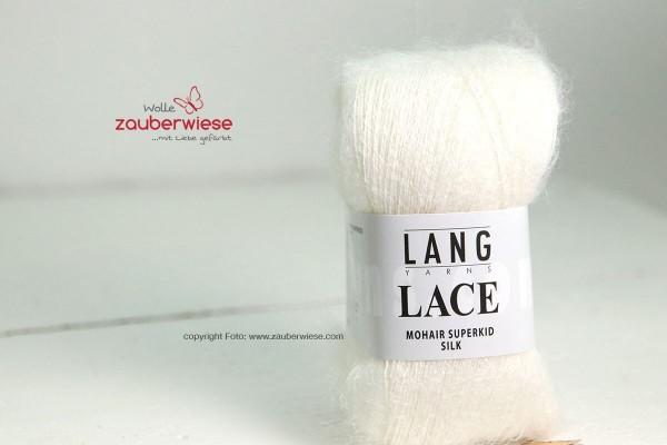 Lace weiss, 310m, 25g, kidM1240