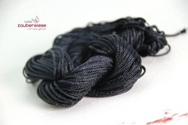 Nylonkordel schwarz