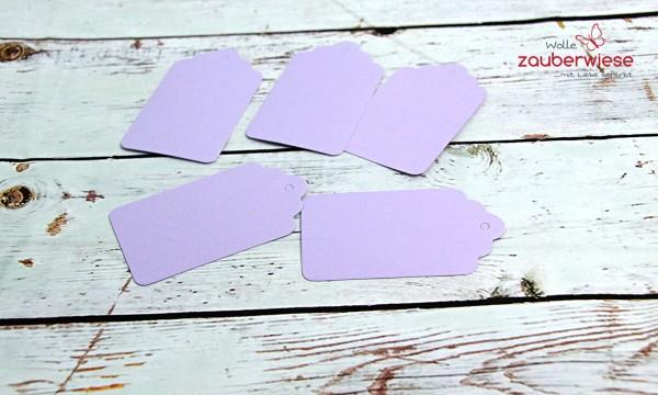 Anhänger lila 5 Stück