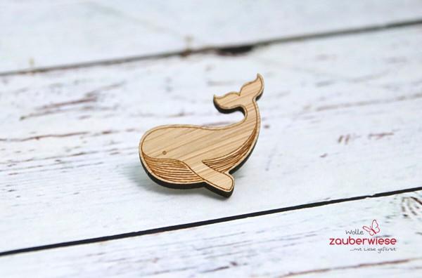 Holz Pin Wal