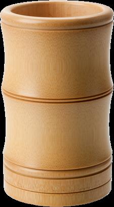 Bambus Nadelbehälter