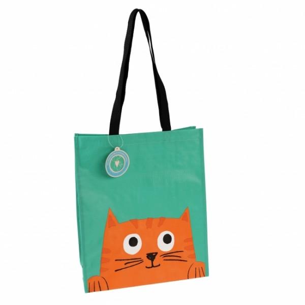 Einkaufstasche Katze Chester
