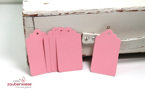 Anhänger rosa 5 Stück