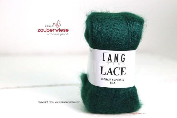 Lace dunkelgrün, 310m, 25g, kidM1240