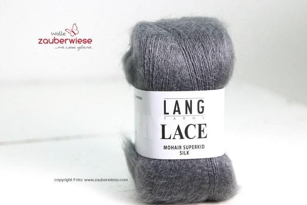 Lace grau mélange, 310m, 25g, kidM1240
