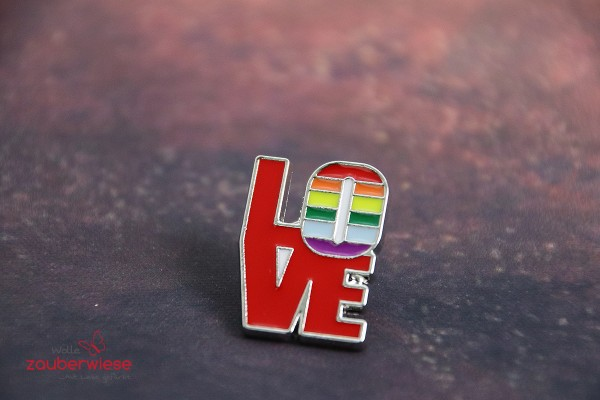 Emaille Pin LOVE