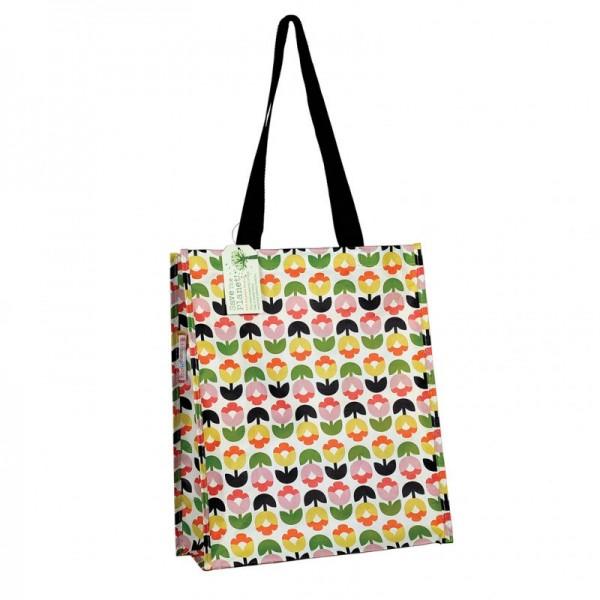 Einkaufstasche Tulpen