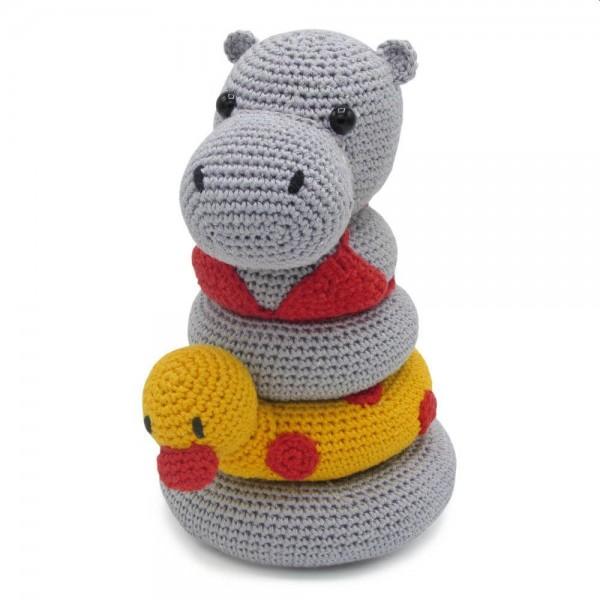 Häkelpackung Helga Hippo