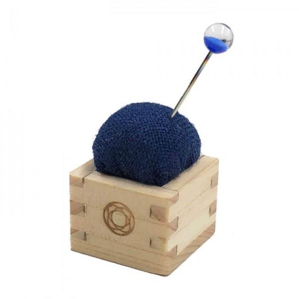 Nadelkissen Mini Masu blau