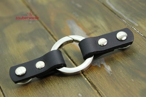 Cordoba Ring Closure Black with Nickel