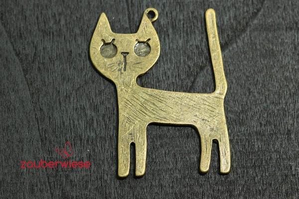 Katze_bronze