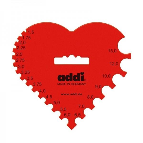 Addi Häkelnadelmaß Herz