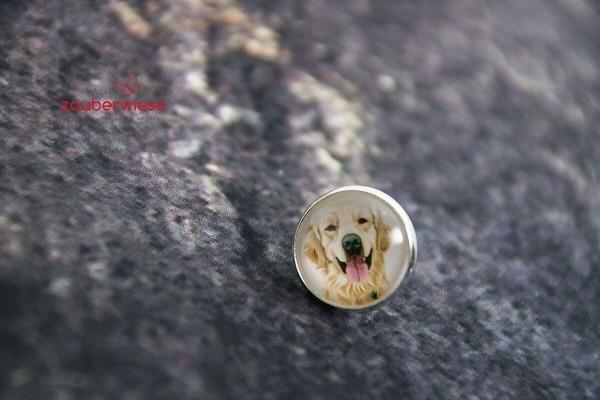 Cabochon Pin Hund