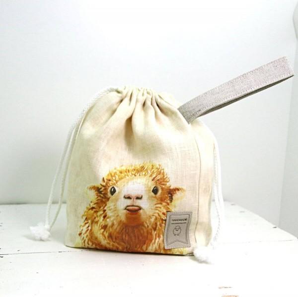 Strickbeutel Schaf mini