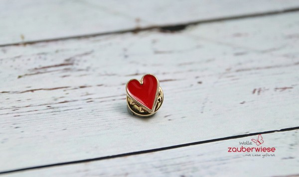 Emaille Pin Herz