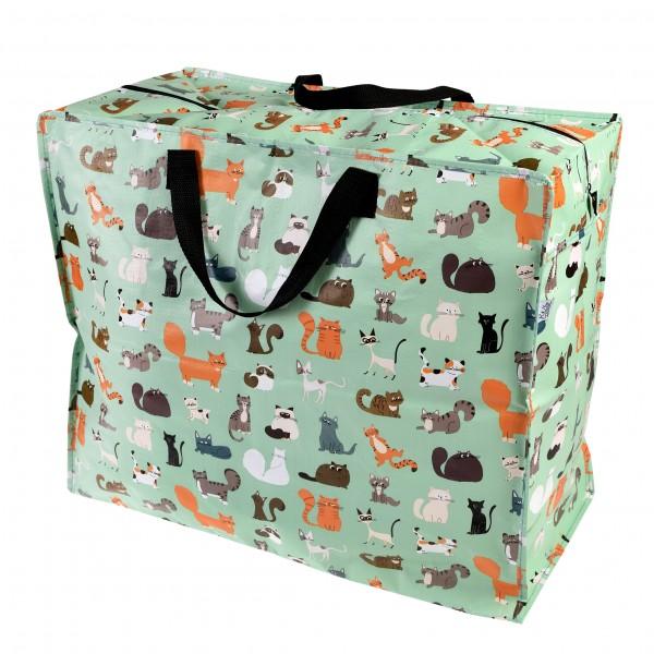 Jumbo Tasche Katzenbande