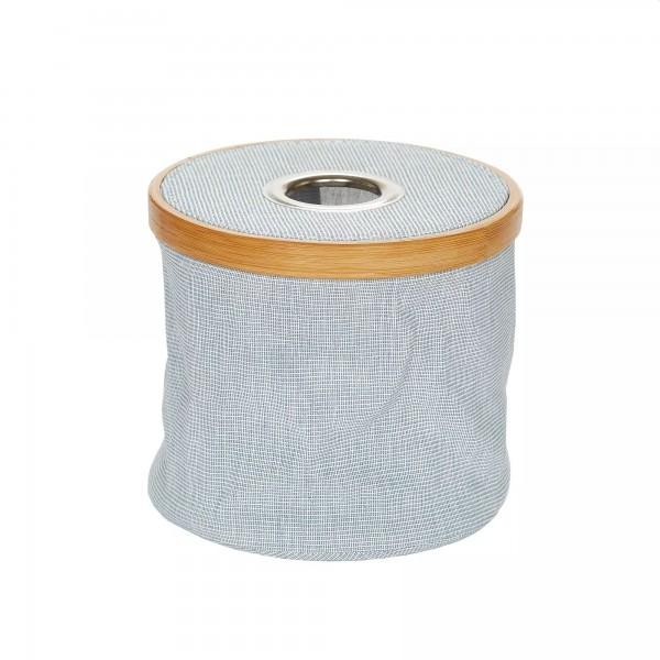 Woll-Spender Canvas & Bamboo faltbar blau, Prym