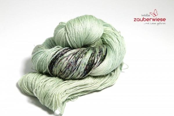 Sprenkel auf zartgrün, SoftMS730, 100g