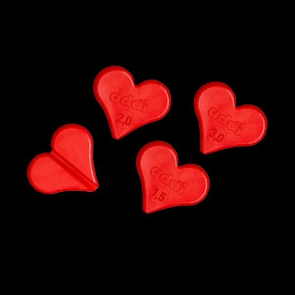 Addi Maschenfix Herz 1.5, 2.0 und 3 mm