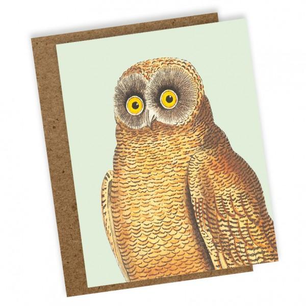 Mini Klappkarte Mellow Owl