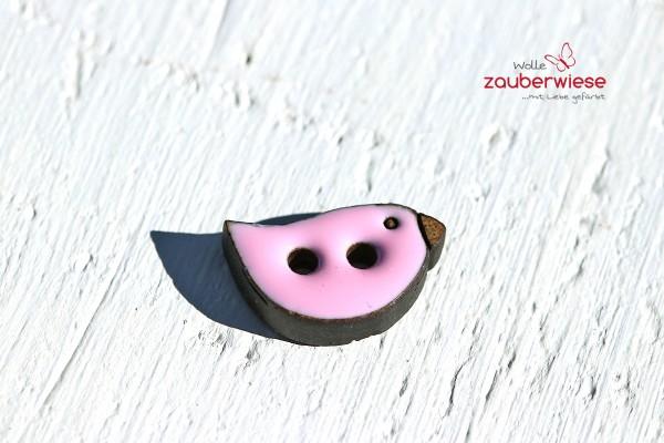 Kokosknopf Vogel rosa