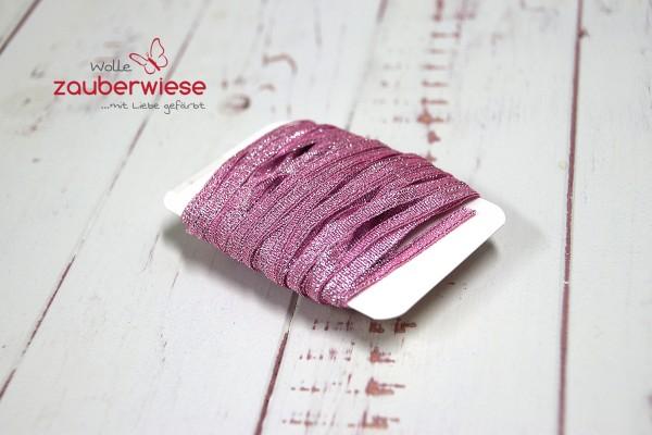 Glitzerband rosa