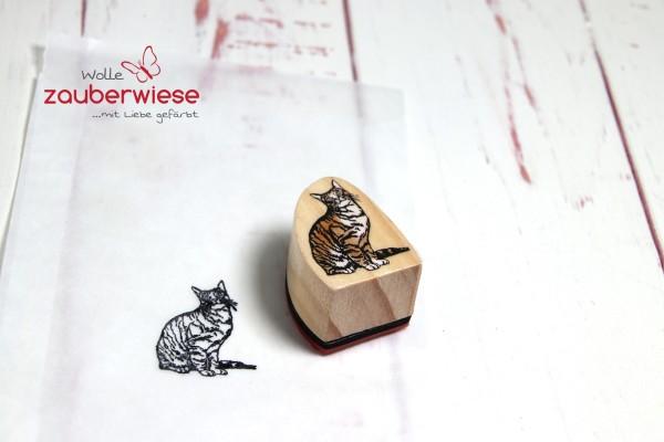 Stempel Katze