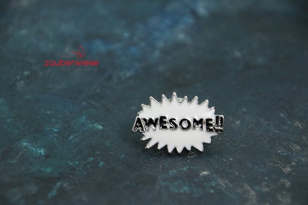 Emaille Pin awesome!!
