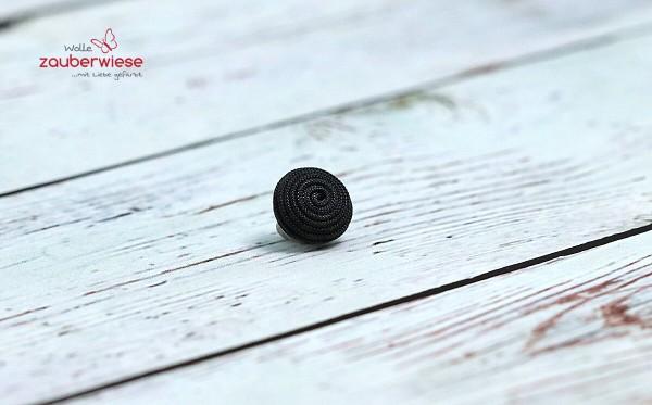Knopf 12mm schwarz