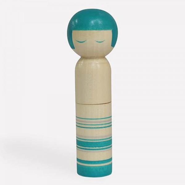 Cohana Kokeshi Doll Nadelkissen grün
