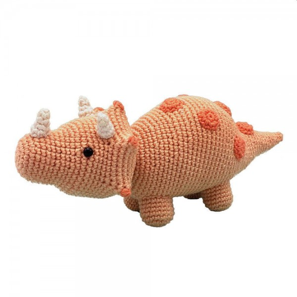 Häkelpackung Triceratops