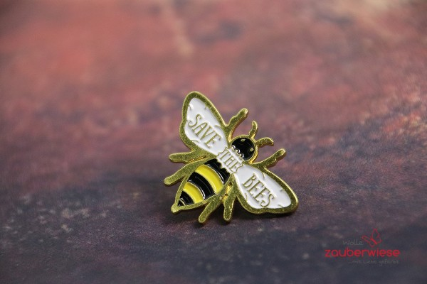 Emaille Pin save the bees