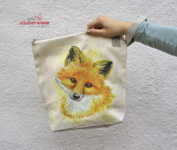Stricktasche Fuchs