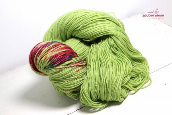 Sprenkel auf hellgrün, SoftM320, 150g