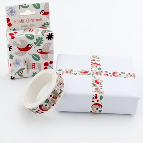 Washi Tape, Nordische Weihnacht