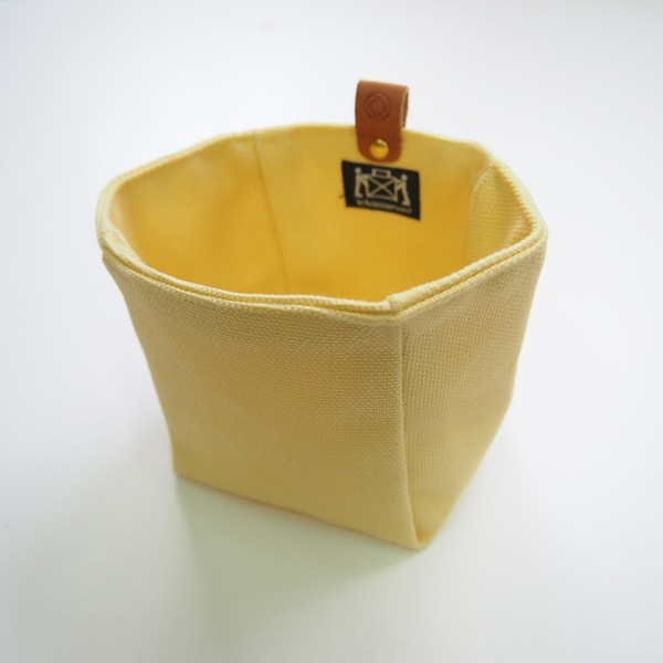 Canvas Knick-Knack Tasche gelb