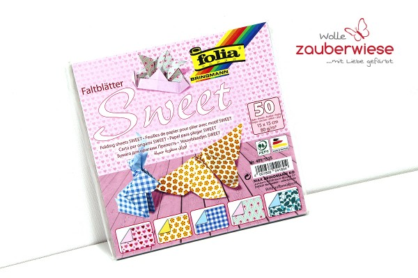 "Faltblätter Set ""sweet"""