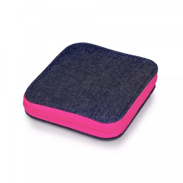 Nähset jeansblau/pink, Prym