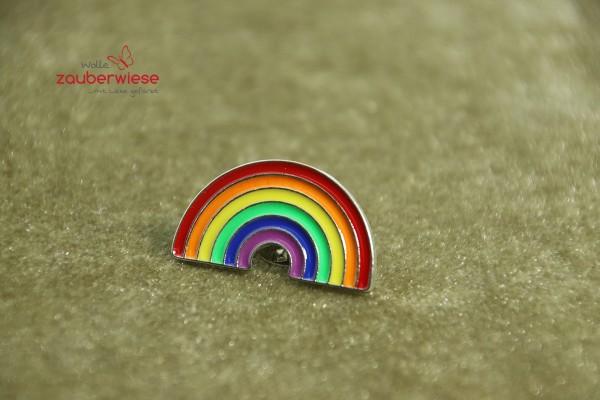 Emaille Pin Regenbogen