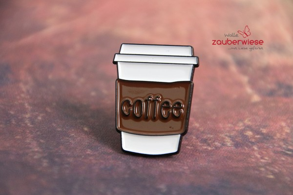 Emaille Pin coffee