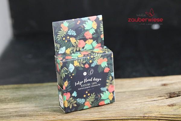 Masking Tape, Blumen dunkel