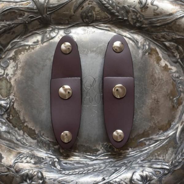 Einschraub Verschlüsse Oval Aubergine