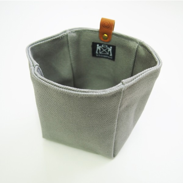 Canvas Knick-Knack Tasche grau